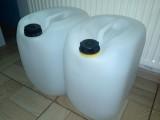 Bańki, kanistry PVC 30 litrów do paliwa