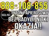 Tytoń papierosowy sklepowej jakości Tylko 55zl/kg Wysyłka 24H!