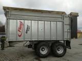 Fliegl Gigant ASW 160 przyczepa z systemem zsuwającym 2010r, 16 ton