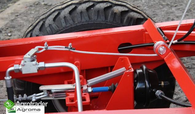 Wywrotka rolnicza Pronar T 654/1 przyczepa jednoosiowa 3,5t - zdjęcie 7