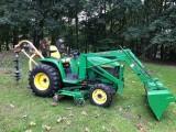 Ciągnik rolniczy John Deere 43IO +akcesoria