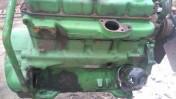 Części silnika John Deere 4 cylindrowy pompa wtryskowa,wal,głowica