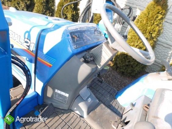Iseki Sial 21 4x4 wspomaganie kierownicy ładowacz czołowy TUR  - zdjęcie 5