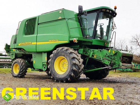 JOHN DEERE 9640 WTS - GREENSTAR - zdjęcie 8