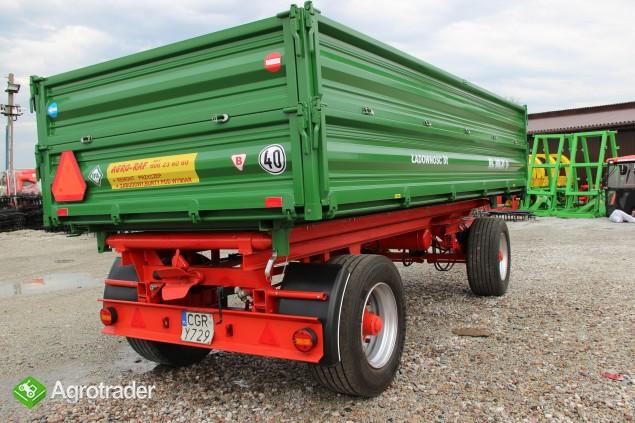Przyczepa wywrotka 8 ton HL 8011 przyczepy wywrotka jak nowa paletowa - zdjęcie 4