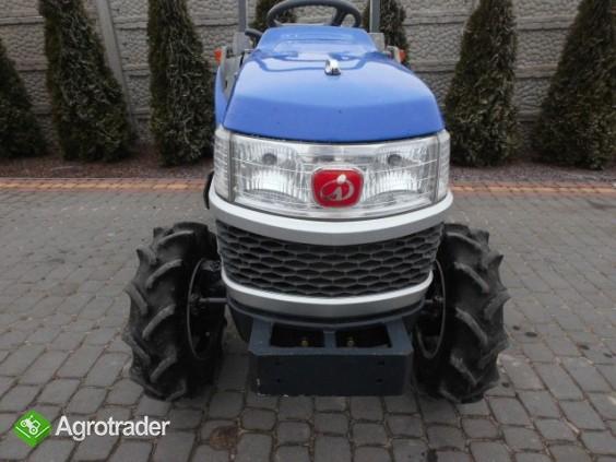 Iseki Sial Hunter 18 4X4 Wspomaganie mini traktor ciągnik ogrodniczy  - zdjęcie 2