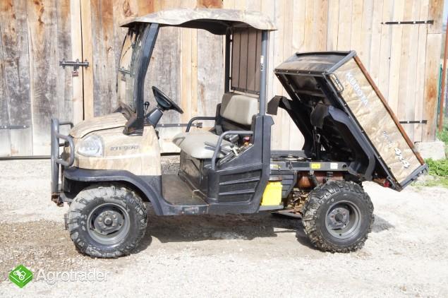 KUBOTA transporter RTV 4WD Diesel (2008) barwa maskujaca - zdjęcie 1