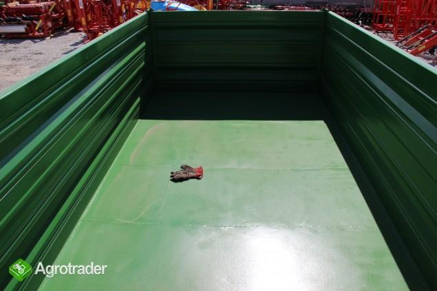 Przyczepa rolnicza ciężarowa THK 5 ton jak nowa OKAZJA wywrotka - zdjęcie 5