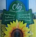 Rafinowany słonecznikowy olej