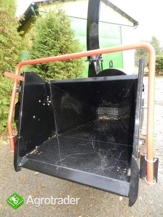 Rębak tarczowy do ciągnika  BóBR72-R: 4 noże tnące, min 50 kM - zdjęcie 1