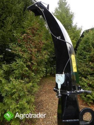 Rębak tarczowy do ciągnika  BóBR72-R: 4 noże tnące, min 50 kM - zdjęcie 2
