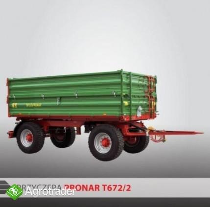 Przyczepa Rolnicza Pronar T672/2
