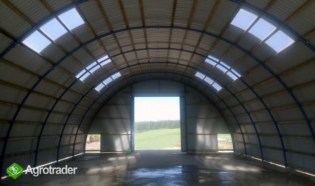 HALA tunelowa łukowa rolnicza TANIO 10,8 x 32,5 - zdjęcie 4