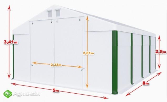 Magazyn Całoroczna Hala namiotowa 5×8×2,5/3,41m