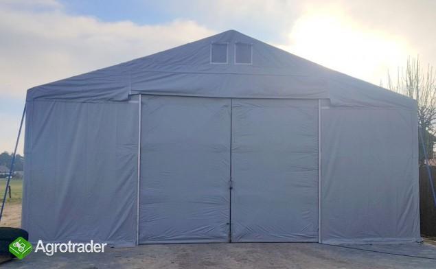 Magazyn Całoroczna Hala namiotowa 8m × 18m × 3,5m/4,96m - zdjęcie 5