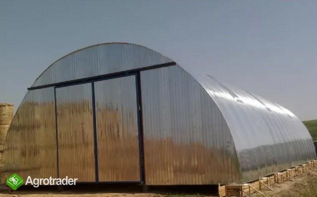 HALA tunelowa konstrukcja stalowa blacha 10,8 x 27 - zdjęcie 4