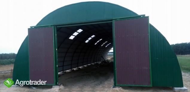 HALA stalowa łukowa tunelowa magazynowy 10,8 x 70 - zdjęcie 7