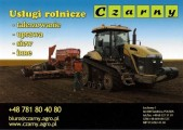 Usługi agrotechniczne- siew,talerzowanie i inne