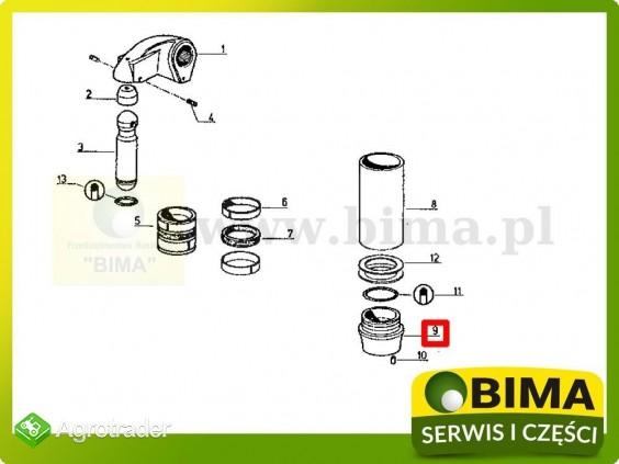 Stojak cylindra podnośnika Renault CLAAS 103-52,103-54 - zdjęcie 2