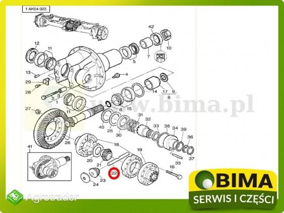 Sworzeń mechanizmu różnicowego Massey Ferguson 8130 - zdjęcie 1