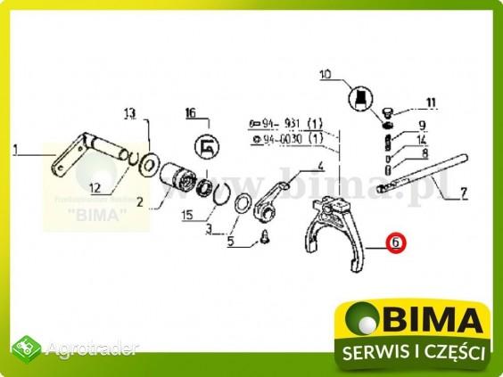 Używane widełki rewersu Renault CLAAS 120-14,133-14 - zdjęcie 2
