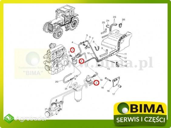 Uszczelniacz przewodu paliwowego Landini 9080,9880 - zdjęcie 1