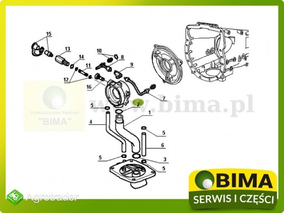 Oring uszczelniacz Renault CLAAS 68-14,77-14,681,681-4 - zdjęcie 2
