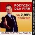 Nisko Oprocentowane Pożyczki dla Firm tylko 2,99%