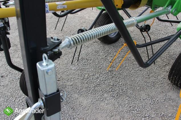 Przetrząsacz 4 wirnikowy 5, 5 m karuzela Tornado Talex - zdjęcie 7