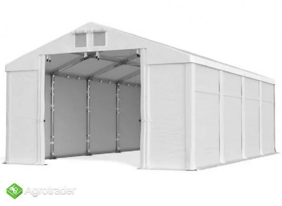 Mocny namiot magazynowy MTB Warsztat Garaż 5x7x2,5 - zdjęcie 3