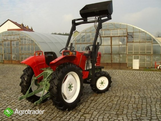Mini traktor YANMAR 2010 D + TUR nie kubota iseki - zdjęcie 2