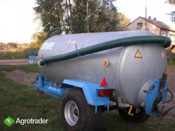 beczkowóz asenizacyjny pomot 4000L. 2006R BECZKA - zdjęcie 3