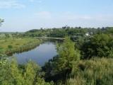 Ukraina.Staw rybny,35ha + torfowiska,30ha.Tanio