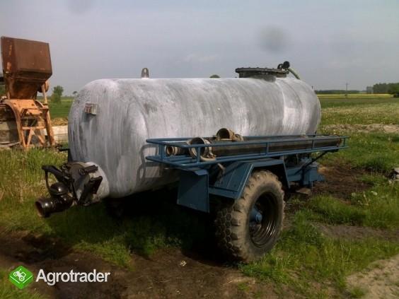 Beczka asenizacyjna 3,5 tys. litrów - zdjęcie 1