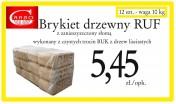Brykiet drzewny Producent PROMOCJA