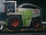 Transport sieczkarnie Claas Jaguar John Deere